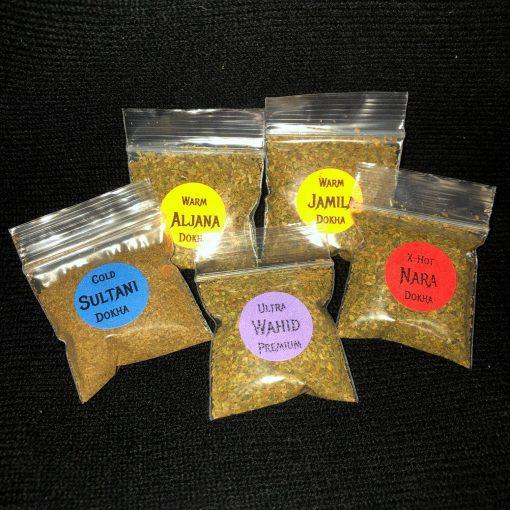 Premium Dokha Sample pack